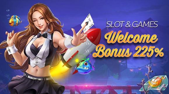 โบนัสต้อนรับสมาชิกใหม่รับฟรี 100% ฝากเพิ่มรับอีก 75% และอีก 50% รวมทั้งสิ้น 225% galaxy casino
