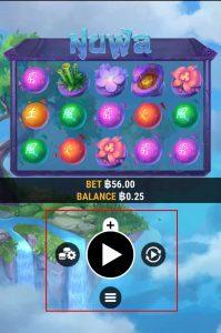 หน้าการเล่นเกมสล็อต Mobile