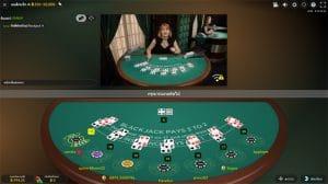 blackjack evolution gaming